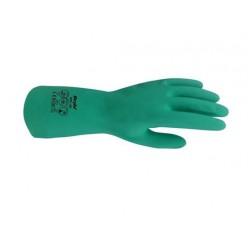 Kimyasal Yeşil Nitril Eldiven 33 cm