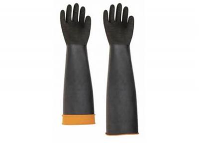 Asit Eldiveni Siyah Uzun Konç 60 Cm