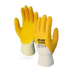 Beybi Kn350 Sarı-Beyaz Eldiven