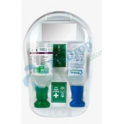 Pitdrop®Kapaklı Göz Duşu İstasyonu 1x 500ml 1 x 250ml Kimyasal