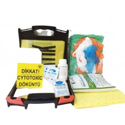 Sitotoksik Kemoterapi Dökülme Kiti Cytotoxic Spıll Kit
