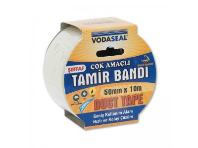 Vodabond Duct Tape Tamir Bandı 50*10 Mt Şeffaf
